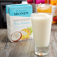 Monin 46 oz. Pina Colada Fruit Smoothie Mix