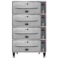 APW Wyott HDXi-4 Ease Extreme Digital 4 Drawer Warmer - 120V