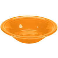 Homer Laughlin 472325 Fiesta Tangerine 11 oz. Stacking Cereal Bowl   - 12/Case