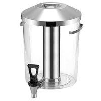 Vollrath V904807 6.34 Qt. Cubic Beverage Dispenser Reservoir with Lid