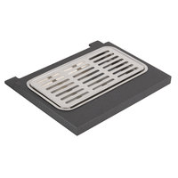 Vollrath V904806 9 1/16 inch x 7 1/2 inch Cubic Beverage Dispenser Drip Tray