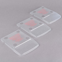 Edlund CV073 ClearShield Protective Scale Cover for BRV-160 - 3/Pack