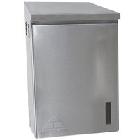 Advance Tabco WCH-15-24 24 inch Stainless Steel Wall Mounted Chemical Storage Cabinet