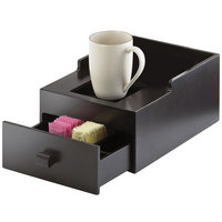 Cal-Mil 1051-1-96 Midnight Bamboo Single Airpot Stand with Drawer