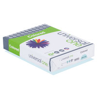 Universal Office UNV11202 8 1/2 inch x 11 inch Blue Ream of 20# Color Copy Paper - 500/Sheets