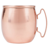 World Tableware CMM-100 14 oz. Moscow Mule Mug with Copper Finish - 4/Pack