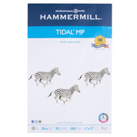 Hammermill 162024 Tidal 11 inch x 17 inch White Ream of 20# Multipurpose Copy Paper