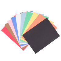Pacon 103637 Riverside 9 inch x 12 inch Assorted Color Pack of 76# Construction Paper - 50/Sheets