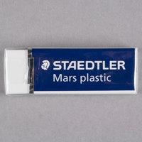 Staedtler STD52650 Mars White Plastic Eraser - 20/Box