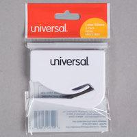 Universal UNV31803 2 1/2 inch White Concealed Blade Letter Slitter / Hand Letter Opener - 3/Pack