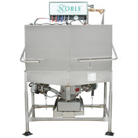 Noble Warewashing II Double Rack Low Temperature Corner Dishwasher - Right Side, 115V