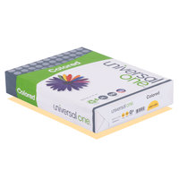 Universal Office UNV11205 8 1/2 inch x 11 inch Goldenrod Ream of 20# Color Copy Paper - 500/Sheets