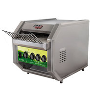 APW Wyott ECO-4000 QST 500L 10 inch Wide Conveyor Toaster with 1 1/2 inch Opening and Analog Controls - 208V