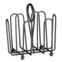 Tablecraft 597CBK Black Wire Jelly Packet Rack