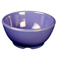 Thunder Group CR5804BU Purple 10 oz. Melamine Soup Bowl, 4 5/8 inch - 12/Case