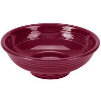 Homer Laughlin 765341 Fiesta Claret 2 qt. Pedestal Serving Bowl - 4/Case