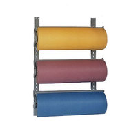 Bulman T292-9 9 inch Horizontal Three Paper Roll Wall Rack
