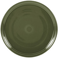 Homer Laughlin 505340 Fiesta Sage 15 inch Baking / Pizza Tray - 4/Case