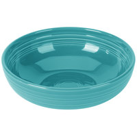 Homer Laughlin 1472107 Fiesta Turquoise 96 oz. Extra Large Bistro Bowl - 4/Case