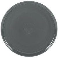 Homer Laughlin 575339 Fiesta Slate 12 inch China Pizza / Baking Tray - 4/Case