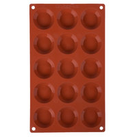 Matfer Bourgeat 257925 Gastroflex Silicone 15 Compartment Mini Tart Mold