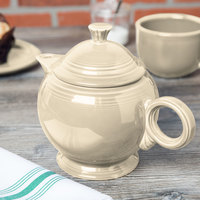 Homer Laughlin 496330 Fiesta Ivory 44 oz. Covered Teapot - 4/Case