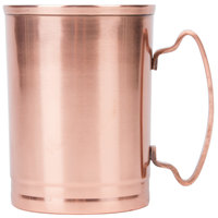 World Tableware CMM-200 14 oz. Moscow Mule Cup with Copper Finish - 4/Pack