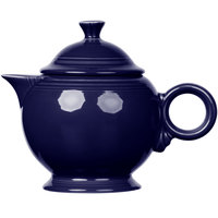 Homer Laughlin 496105 Fiesta Cobalt Blue 44 oz. Covered Teapot - 4/Case