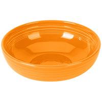 Homer Laughlin 1472325 Fiesta Tangerine 96 oz. Extra Large Bistro Bowl - 4/Case