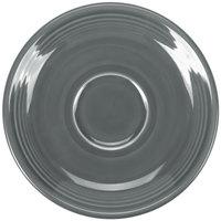 Homer Laughlin 470339 Fiesta Slate 5 7/8 inch Saucer - 12/Case
