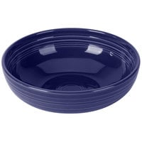 Homer Laughlin 1472105 Fiesta Cobalt Blue 96 oz. Extra Large Bistro Bowl - 4/Case