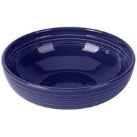 Homer Laughlin 1472105 Fiesta Cobalt Blue 96 oz. Extra Large Bistro Bowl - 4/Case