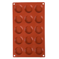 Matfer Bourgeat 257922 Gastroflex Silicone 15 Compartment Mini Tartlet Mold