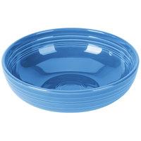 Homer Laughlin 1472337 Fiesta Lapis 96 oz. Extra Large China Bistro Bowl   - 4/Case