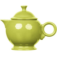 Homer Laughlin 496332 Fiesta Lemongrass 44 oz. Covered Teapot - 4/Case