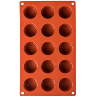 Matfer Bourgeat 257914 Gastroflex Silicone 15 Compartment Mini Muffin Mold
