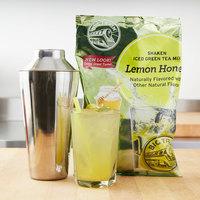 Big Train 2 lb. Shaken Lemon Honey Iced Green Tea Mix