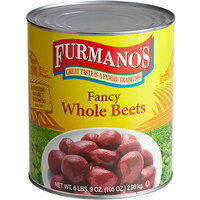 Furmano's #10 Can 120 Count Whole Beets