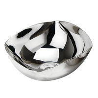 Eastern Tabletop 7110 48 oz. Stainless Steel Square Edged Revere Bowl