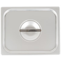 Vigor 1/2 Size Solid Stainless Steel Steam Table / Hotel Pan Cover