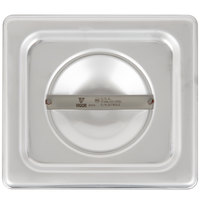 Vigor 1/6 Size Solid Stainless Steel Steam Table / Hotel Pan Cover