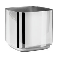 Eastern Tabletop 7341 Java 10 oz. Stainless Steel Sugar Dish