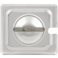 Vigor 1/6 Size Slotted Stainless Steel Steam Table / Hotel Pan Cover