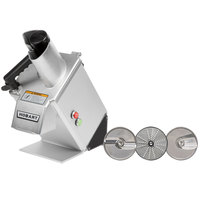Hobart FP250-1A Continuous Feed Food Processor with 3 Plates - 3/4 hp