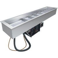 Hatco CWB-S4 Four Pan Refrigerated Slim Drop-In Cold Food Well - 120V