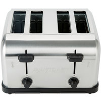 Avatoast MDT4 Medium-Duty 4-Slice Commercial Toaster - 1 1/2 inch Slots, 120V