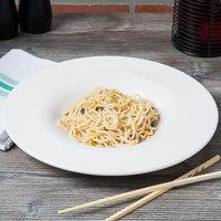 Carlisle HAL0402 Halcyon 6 oz. Round Bone White Melamine Pasta Bowl - 12/Case