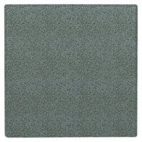 Grosfillex UT210025 X1 24 inch Square Granite Green Outdoor Molded Melamine Table Top