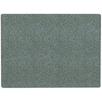 Grosfillex 99531025 X1 24 inch x 32 inch Rectangular Granite Green Outdoor Molded Melamine Table Top