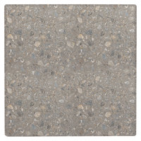 Grosfillex 99873102 36 inch Square Tokyo Stone Outdoor Molded Melamine X1 Table Top